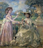 Two Girls on a Terrace, 1903 Fine-Art Print
