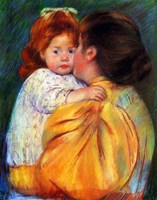 Maternal Kiss, 1896 Fine-Art Print