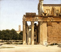 View of the Via Sacra, Rome, 1814 Fine-Art Print