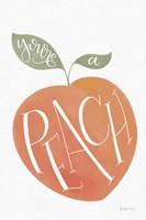 You are a Peach Fine-Art Print