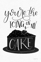 Icing On My Cake BW Fine-Art Print
