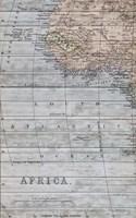 Old Map Africa II Fine-Art Print