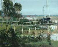 Docks on Water Street Fine-Art Print