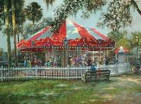 J & S Carousel Fine-Art Print
