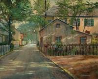 The Little House on Spanish Street Fine-Art Print