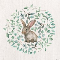Rabbit Leaves Fine-Art Print