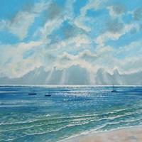 Boats Moored in Morning Sun Fine-Art Print