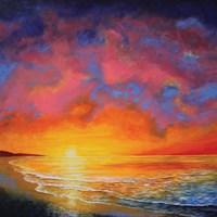 Vivid Sunset Fine-Art Print