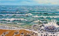 Wind White Waves Fine-Art Print