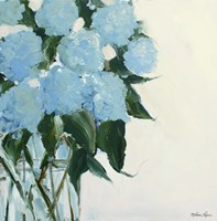 Dusty Blue Hydrangeas Fine-Art Print