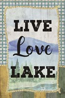 Love, Love, Lake Fine-Art Print
