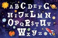 Space Alphabet Fine-Art Print