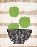 Bowl of Green Apples Fine-Art Print