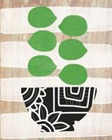 Bowl of Limes Fine-Art Print