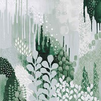 Light Green Forest II Fine-Art Print