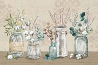 Cotton Bouquet I Fine-Art Print