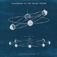 Solar System Blueprint I Fine-Art Print