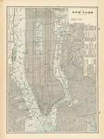 New York City Map Fine-Art Print