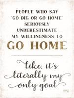 Go Home Fine-Art Print