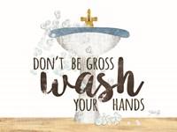 Wash Your Hands Sink Fine-Art Print