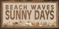 Beach Waves Sunny Days Fine-Art Print