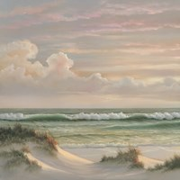 Coastal Dusk I Fine-Art Print