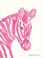 Sabrina the Zebra Fine-Art Print