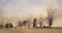 Lancaster Sunrise with Buggy Fine-Art Print