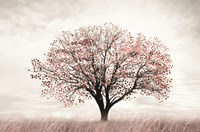 Rose Gold Tree Fine-Art Print