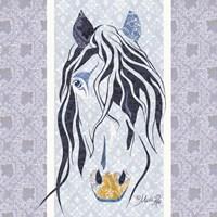 Bluestar the Horse Fine-Art Print