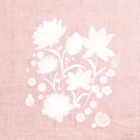 Pink Flower Bunch I Fine-Art Print