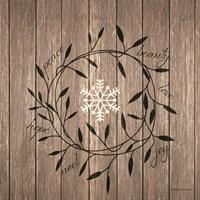 Word Wreath Fine-Art Print