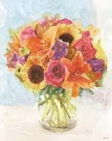 Vase with Flowers I Fine-Art Print