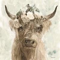 Cow and Crown II Fine-Art Print