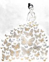 Fluttering Gown I Fine-Art Print