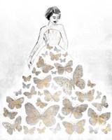 Fluttering Gown II Fine-Art Print