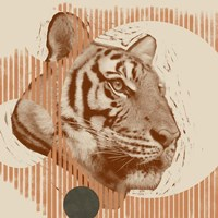 Pop Art Tiger I Fine-Art Print