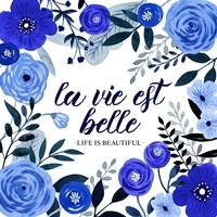 Blue Beautiful I Fine-Art Print