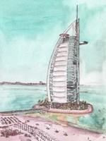 Day Landing Dubai I Fine-Art Print