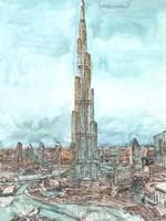 Day Landing Dubai II Fine-Art Print