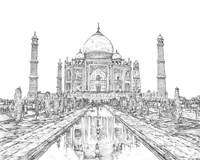 India in Black & White II Fine-Art Print