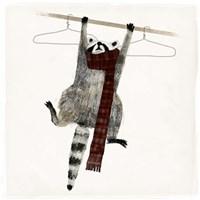 Rascally Raccoon I Fine-Art Print