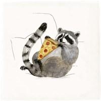Rascally Raccoon II Fine-Art Print