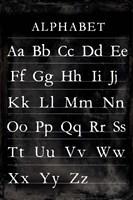 Alphabet Chart Fine-Art Print