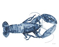 Beach House Kitchen Blue Lobster White Fine-Art Print