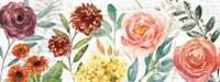 Flower Fest I Panel Fine-Art Print