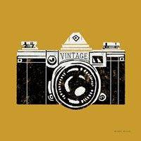 Vintage Camera Yellow Fine-Art Print