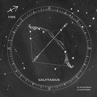 Night Sky Sagittarius v2 Fine-Art Print