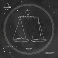 Night Sky Libra v2 Fine-Art Print