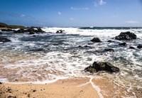Oahu Rocky Shores I Fine-Art Print